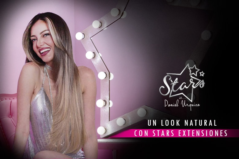 Un look natural con Stars Extensiones